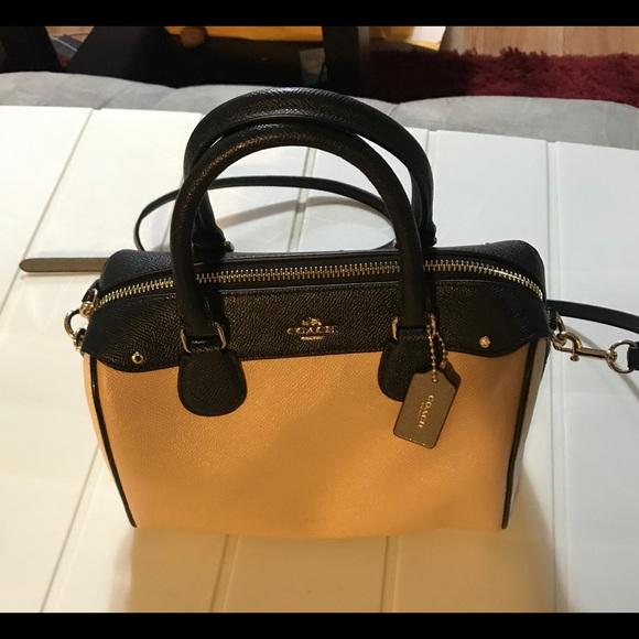 Coach Handbags - Coach Leather Mini Bennett Satchel